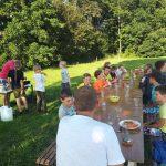 Kamp - lunchen